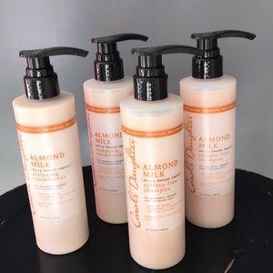 Carol's Daughter almond milk shampoo & conditioner